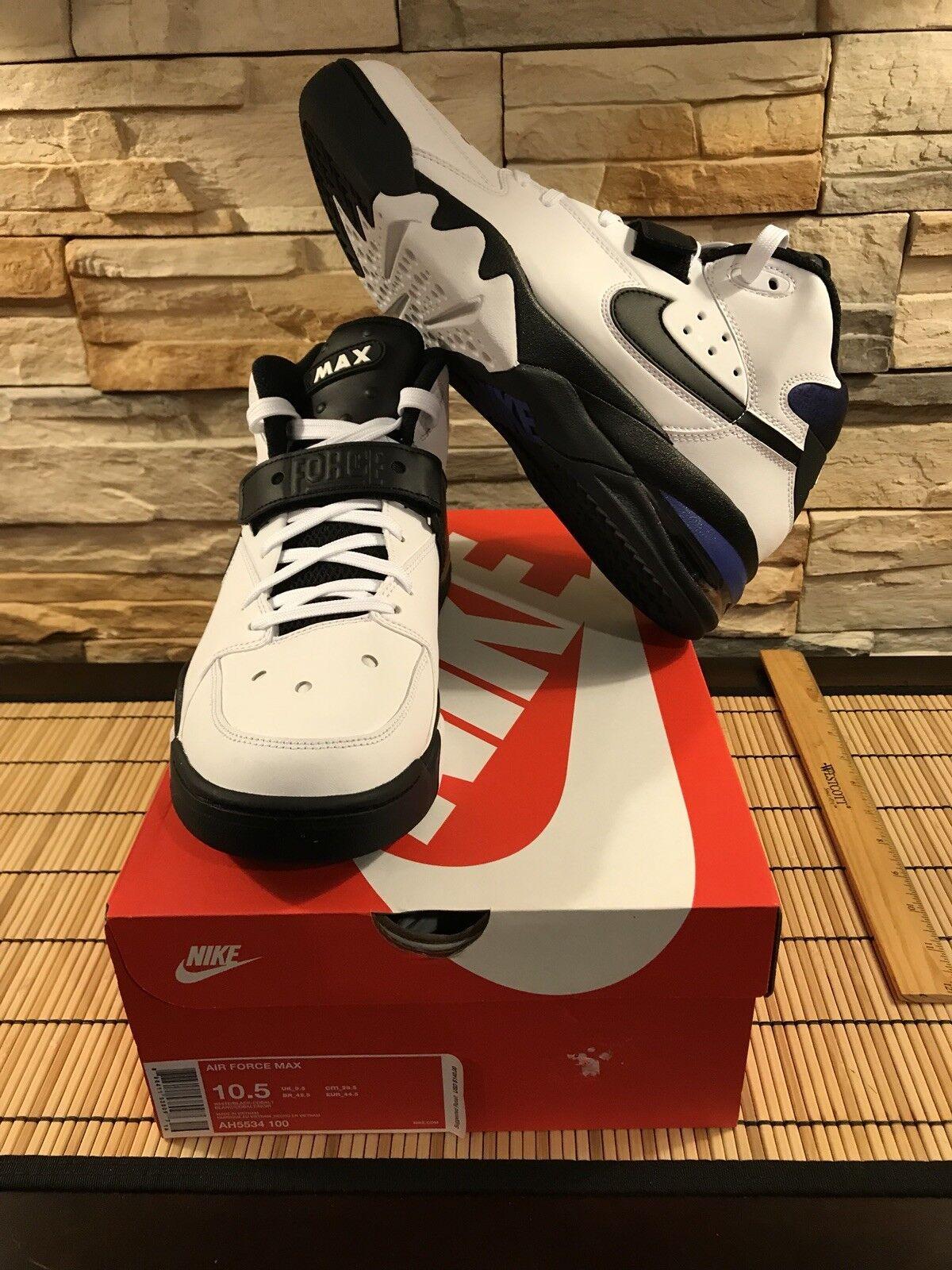 Nike Air Force 93 Max 93 Force Basketball Shoes Men's Sz 10.5 AH5534 100 1f863c