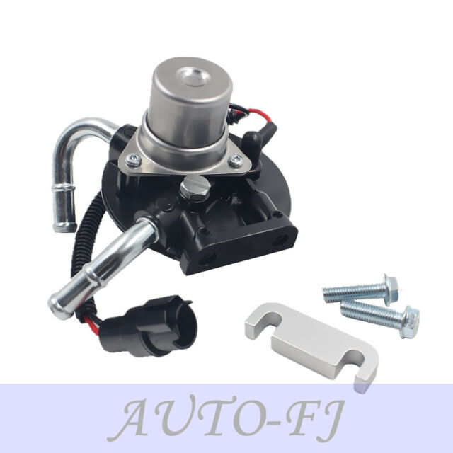 Fuel Primer Pump with Heater and 2 silver bolts for GM Chevrolet GMC V8 6 6L