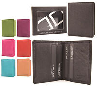 Saddler Genuine Leather Credit Business ID Card Holder Purse NEW BNWT Boxed 2030
