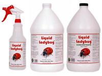 Liquid Ladybug Spider Mite Killer - Organic Safe Pesticide Aphids Thrips Gnats