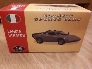 Lancia Stratos Stradale HF 1973 Yellow Norev atlas classic sports car collection