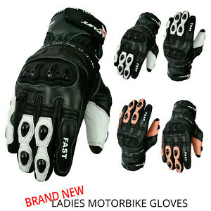 MOTOFAST-Motorcycle-Stylish-Ladies-Gloves-Real-Cowhide-Leather-Gloves-Pre-Curved