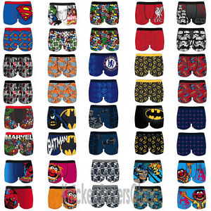 Mens-Character-Novelty-Superhero-Boxer-Shorts-Trunks-Underwear-NEW-Size-S-M-L-XL
