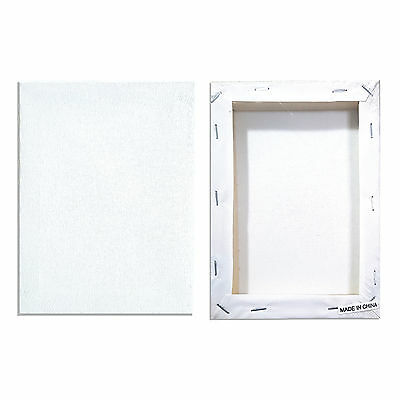 stretched canvas Blank canvas panels 13cm X 18cm Art Cotton pre