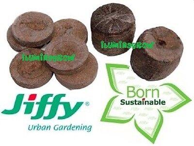 10x Pastilla Jiffy de turba prensada para germinar semillas semillero