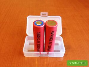 2x-PANASONIC-SANYO-NCR18650GA-3500mAh-3-7V-Li-ion-Rechargeable-Battery-JAPAN