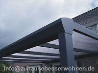 Aluminium Terrassendach Alu Terrassenüberdachung Carport Veranda 6.000x 4.000mm