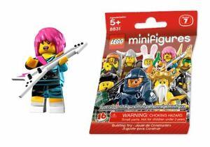 Rocker Girl — LEGO 8831 Series 7 Minifigure — Brand New