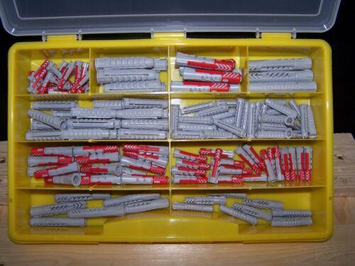 152tlg Fischer Dübel Sortiment DUOPOWER UX SX im Koffer 5mm 6mm 8mm 10mm