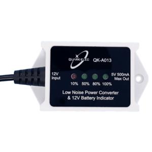 Quark QK-A013 12V a 5V Convertidor de baja interferencia