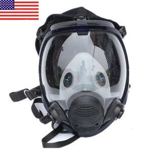 US-For-3M-6800-Facepiece-Respirator-Gas-Mask-Full-Face-Painting-Spraying-Similar