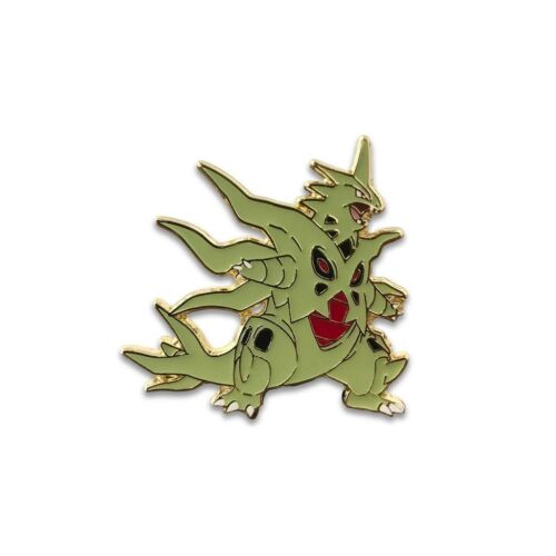 Pokemon Mega Tyranitar EX Pin Badge Official Pokemon Pin From Mega Tyranitar EX