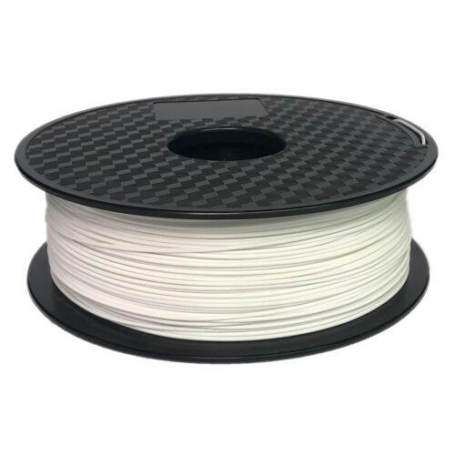 Premium 3D Printer Filament 1kg//2.2lb 1.75mm PLA ABS PETG TPU Wood MakerBot