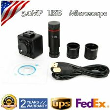 Camera Usb Microscope Digital Eyepiece Cmos Industrial 5mp 720p 05x Adapter