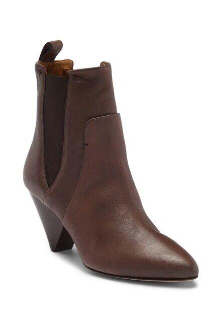 NEW VERONICA BEARD Landon Vintage Calf Leather Chelsea Bootie Womens Size 40.5
