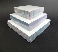 Unruled Note Pads Scratch Pads 200 Sheets Per Pad Size 3x3, 4x4, 5x5