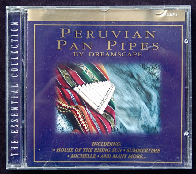 Audio CD - Peruvian Pan Pipes by Dreamscape, 2001, Top Zustand !