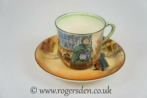 Royal-Doulton-Dickens-Ware-Series-Ware-Cup-amp-Saucer-Cup-Sairey-Gamp