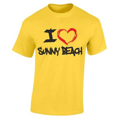 Sunny Beach T-Shirt Holiday Party T Shirt vacation