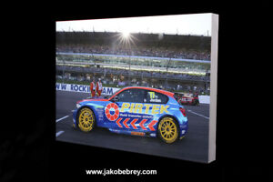 BTCC-Andrew-Jordan-on-the-grid-Rockingham-2017-Art-Motor-Sport-Canvas