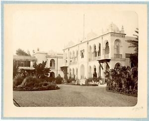 Geiser-Algerie-Palais-du-Gouverneur-Vintage-albumen-print-Tirage-albumine