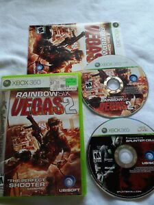 Tom-Clancy-039-s-Lot-Rainbow-Six-Vegas-2-Splinter-Cell-Conviction-Xbox-360-Game