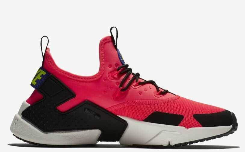 NIB  Men Nike Air Huarache Drift Men's Run Casual Flash Crimson Persian Size 10