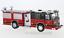 Fire Department 1:43 IXO Seagrave Marauder II rouge//noir New *