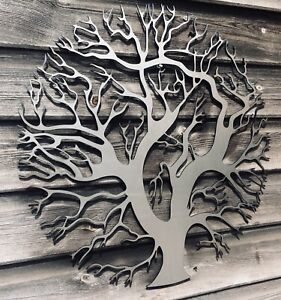 Details About Metal Wall Art Decor Sculpture Tree Of Life