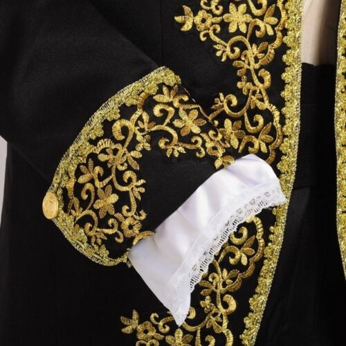 Royal European Court Fancy Dress Vintage Rococo Baroque Prince Cosplay Costume