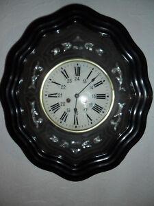 oeil-de-boeuf-decor-de-nacre-plaquage-cadran-verre-TBE-horloge-pendule-mouvement