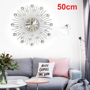 Designer Wanduhr Quartz Moderne Kuchenuhr Uhr Burouhr Wohnzimmer Strass Deko Uhr Ebay