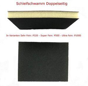 Schleifschwamm-Schleifpad-Schleifvlies-Doppelseitig-Spot-Repair-Autolackierer