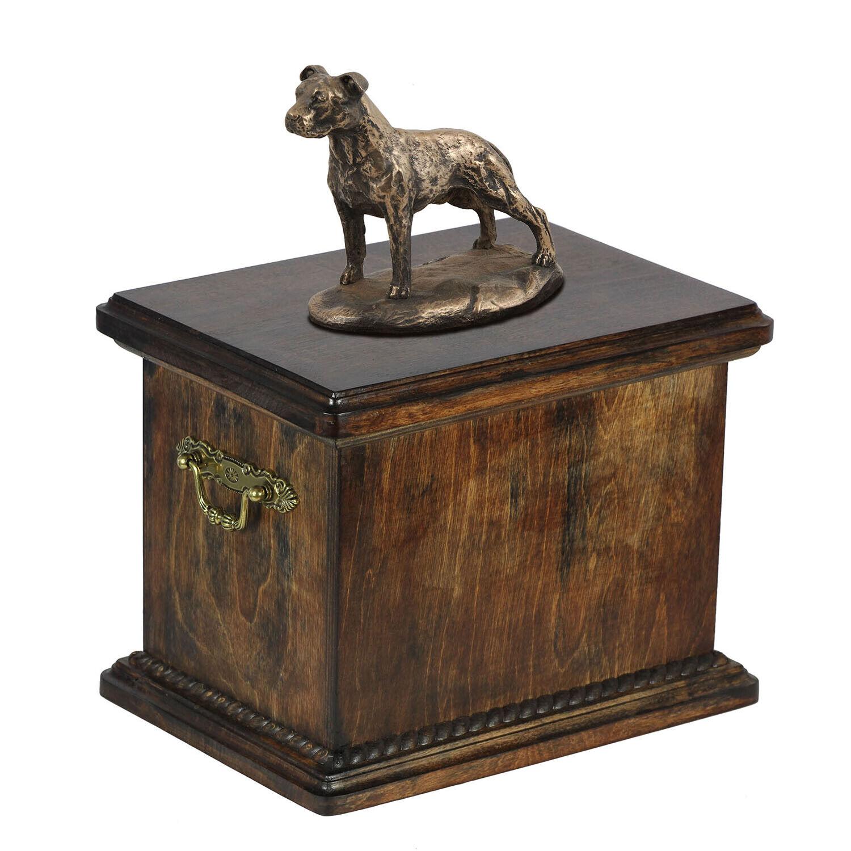 Animale Domestico Urna Cremazione per Cane Ceneri, Statua Memoriale Dell'Animale