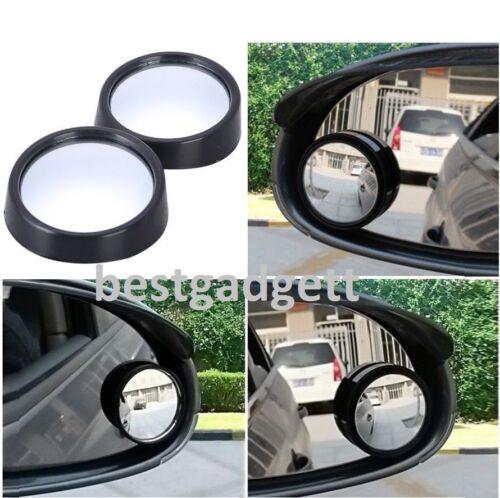 2x AUTO FURGONE convesso Blind Spot 360 ° SPECCHIO Traino Inversione Di Guida Autoadesivo