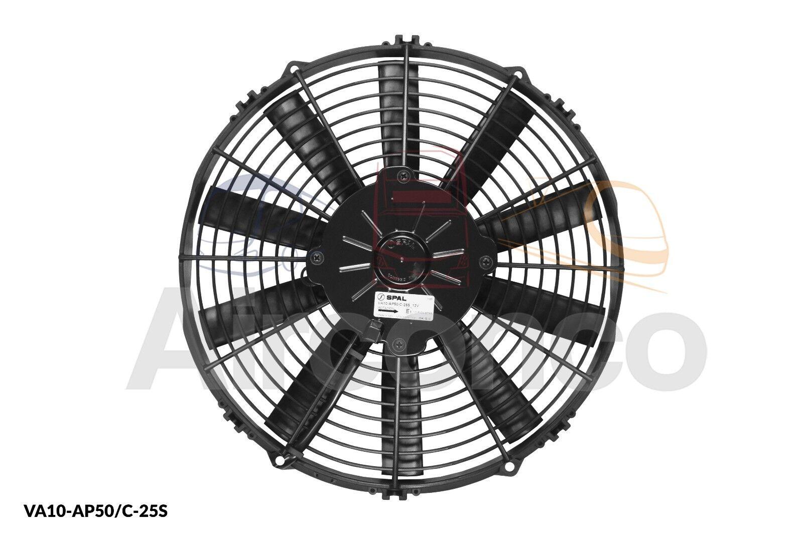 VA10-AP50//C-25S 12v Push - Genuine Product! Spal Axial Fan