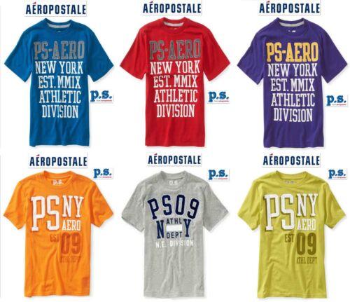 10// 12// 14 Aero P.S NWT Sz Blue,Red,Purple,Green,Grey Aeropostale PS T-Shirt