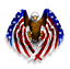 Bald-Eagle-USA-American-Flag-Sticker-Truck-Car-Laptop-Window-Decal-Bumper-Cooler miniature 1