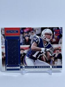 Details about 2013 Rookies and Stars #201 Aaron Dobson Jersey - Patriots Marshall