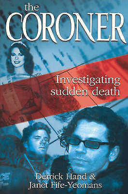 "1 of 1 - ""The Coroner"" by Derrick Hand ..free Post"