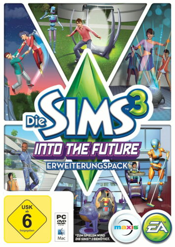 1 von 1 - Die Sims 3: Into The Future (PC/Mac, 2013, in DVD-Box) Deutsche Version