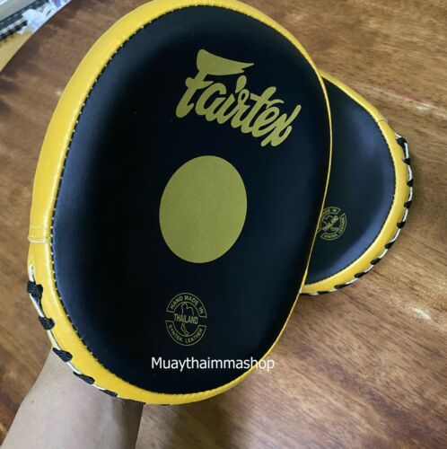 GENUINE Fairtex NEW SHORT Speed /& Accuracy Lightweight Focus Mitts FMV15
