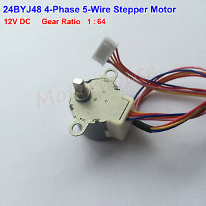 gear stepper motor 24byj48 dc 12v 4 phase 5 wire geared box For Wayne WLS200 Pump Motor Wiring details about gear stepper motor 24byj48 dc 12v 4 phase 5 wire geared box reduction motor
