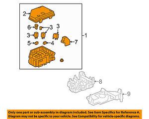 Outstanding Gm Oem Fuse Box Fuse Relay Box 25856249 Ebay Wiring Cloud Hisredienstapotheekhoekschewaardnl