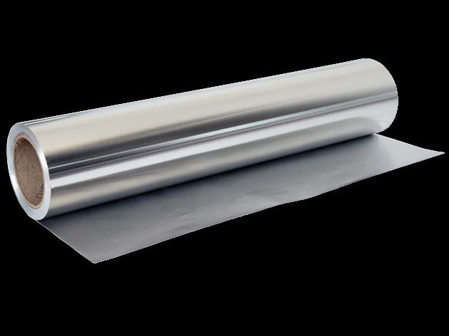 Dampfsperre 100 100, Aluminiumfolie, Sauna, Alufolie, Alu, 100µ x 1.000 mm, 100m