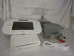 Wii-U-Console-Body-Gamepad-Cables-White-NTSC-J-Used-Nintendo