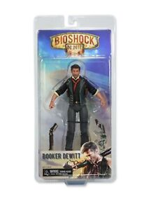 BioShock-Infinite-7-034-Booker-DeWitt-Action-Figure-NECA-New-Rare-FREE-SHIPPING
