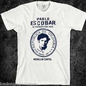 Pablo Escobar Narcos T Shirt Pablo Escobar Tee Netflix