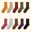5-Pairs-Womens-95-Merino-Wool-Socks-Warm-Thick-Multicolor-Dress-Casual-Winter miniature 11