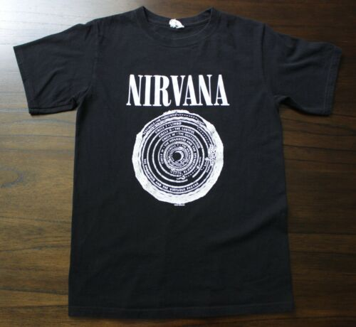 NIRVANA Vestibule t shirt sz. S 2003 reissue grung
